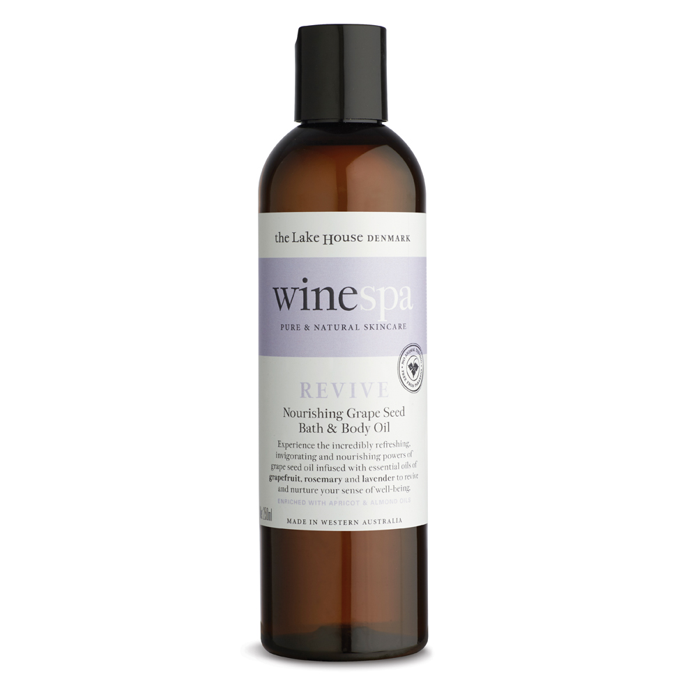 WineSpa Body and Bath Grape Seed Oil Revive (250ml)