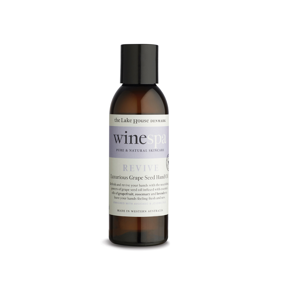 WineSpa Luxurious Grape Seed Hand Oil Revive (125ml)