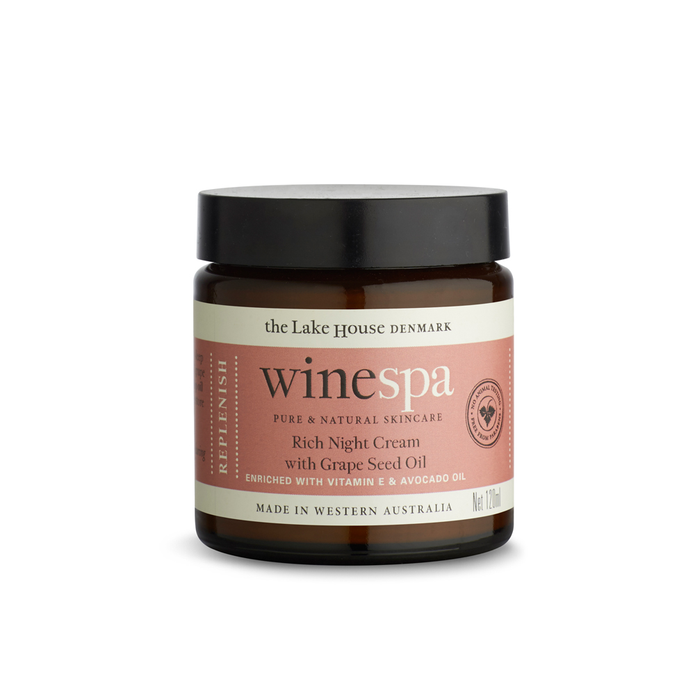 WineSpa Rich Night Cream with Grape Seed Oil Replenish (120ml)