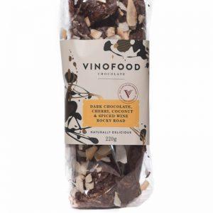 Vinofood Dark Chocolate, Cherry, Coconut & Spiced Wine Rocky Road
