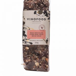 Vinofood Milk Chocolate & Red Wine Jelly Rocky Road