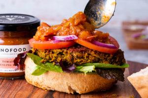 Lentil Veggie Burger Recipe